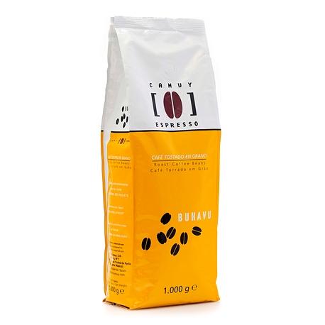Café grano tueste natural Bukavu 1 kg.
