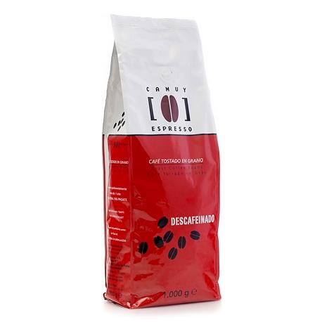 Café grano tueste natural Descafeinado Paraná 1 kg.
