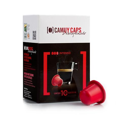 Cápsulas Café compatibles con máquinas Nespresso* natural Descafeinado